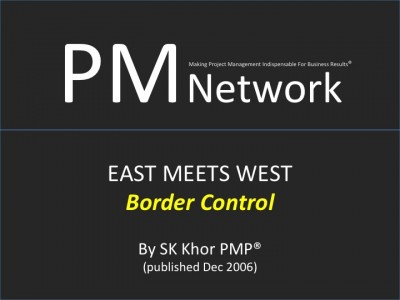 PMI PM Network (Dec 2006): Border Control