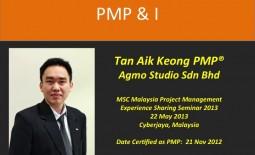 PMP & I – Tan Aik Keong PMP @Agmo Studio Sdn Bhd
